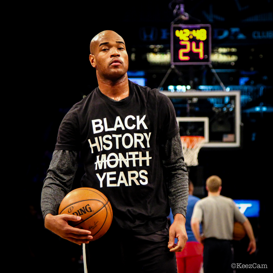 Brooklyn Nets G Jarrett Jack Black History Month Salute