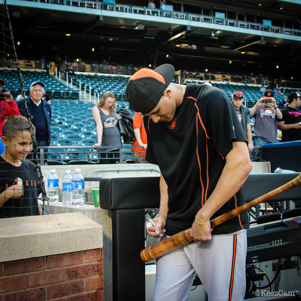 Manny Machado just made a fan for life at Citi Field