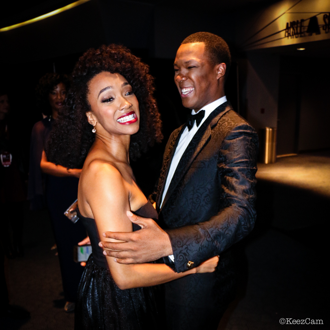 Sonequa Martin-Green & Cory Hawkins