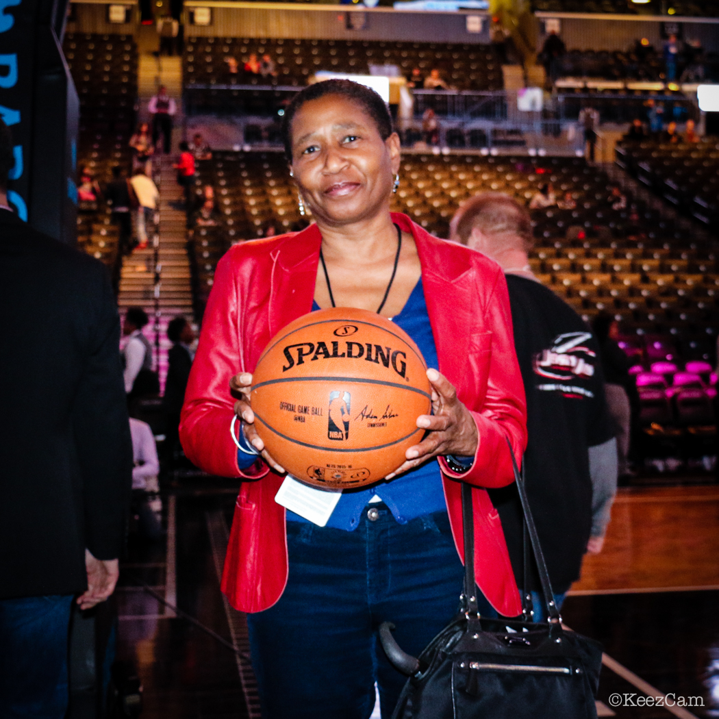NBA Players Association Executive Director Michele Roberts at Barclays Center