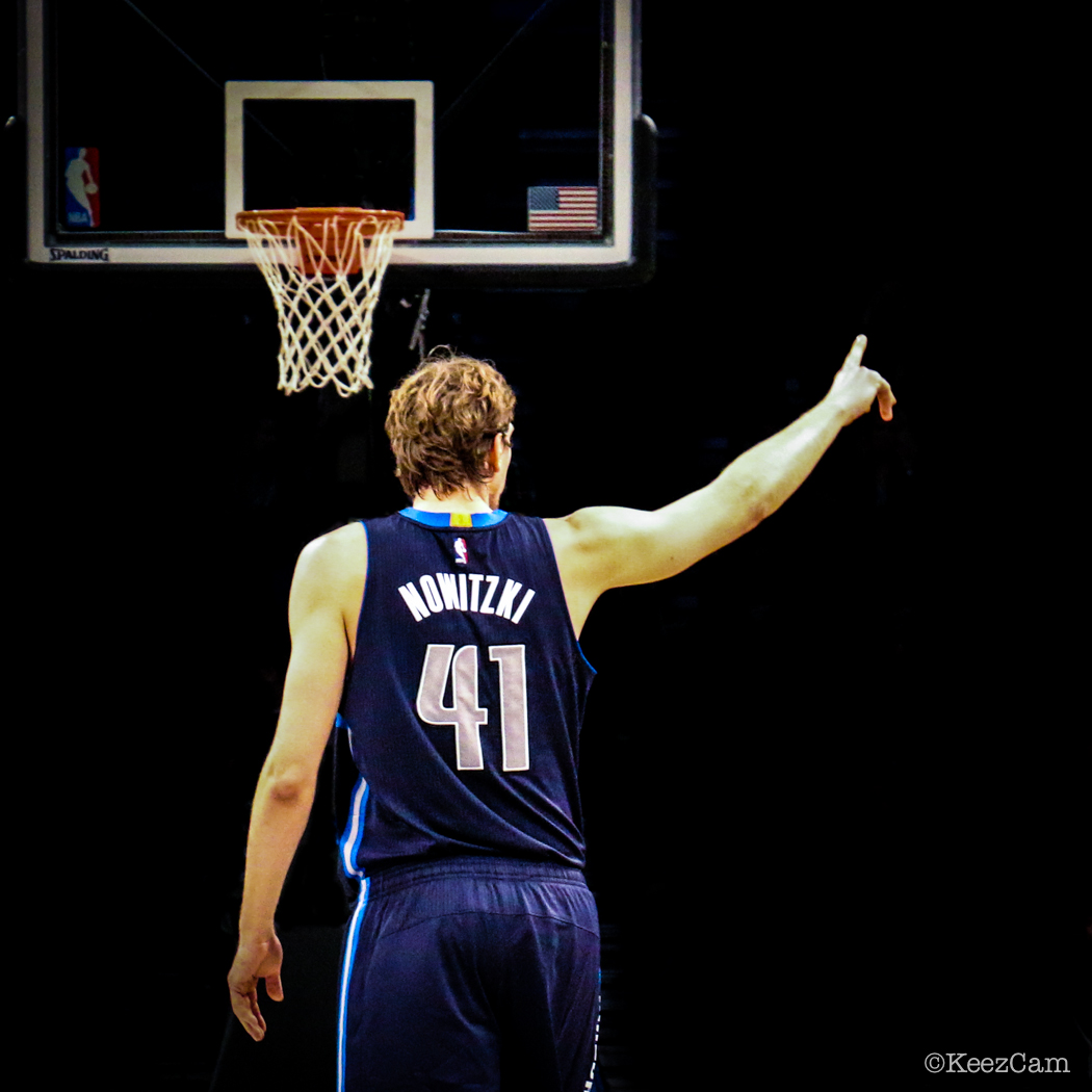 Dirk Nowitzki at Barclays Center
