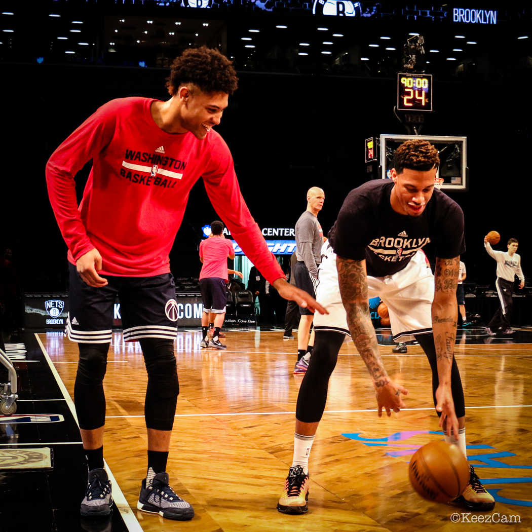 Washington Wizards Kelly Oubre & Brooklyn Nets F Chris McCullough
