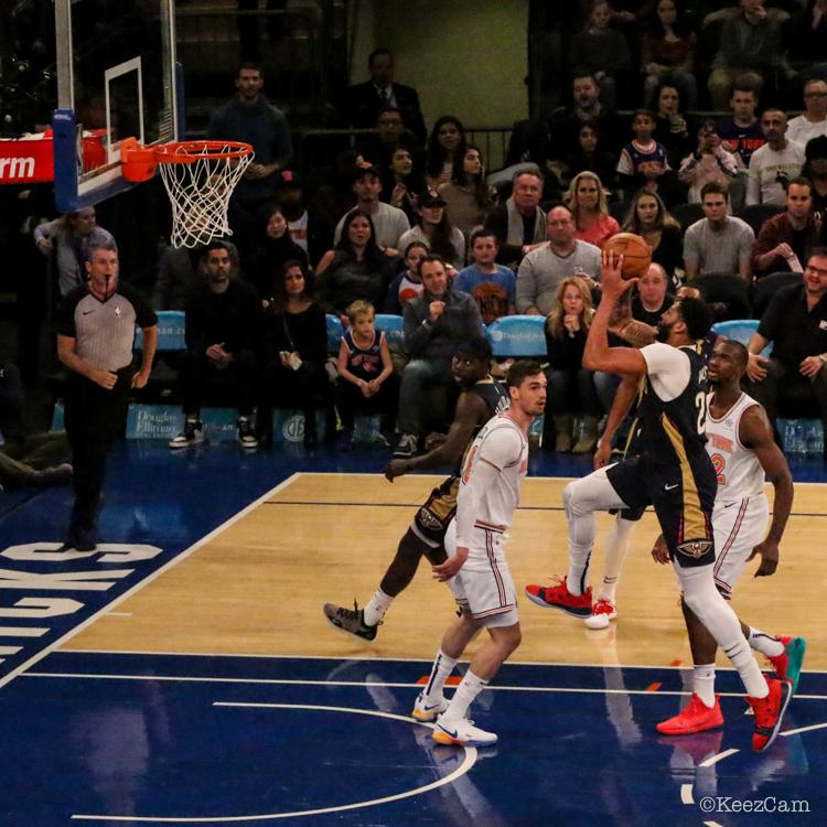 New Orleans Pelicans vs. New York Knicks