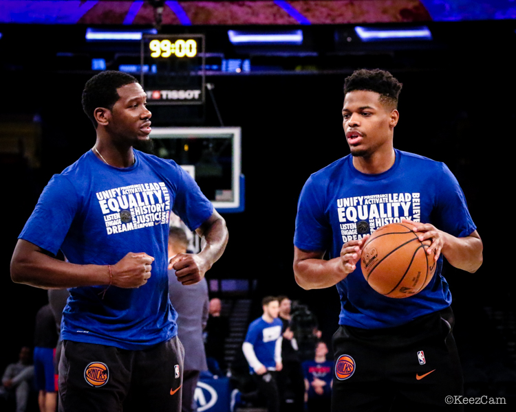 Royal Ivey & Dennis Smith Jr.
