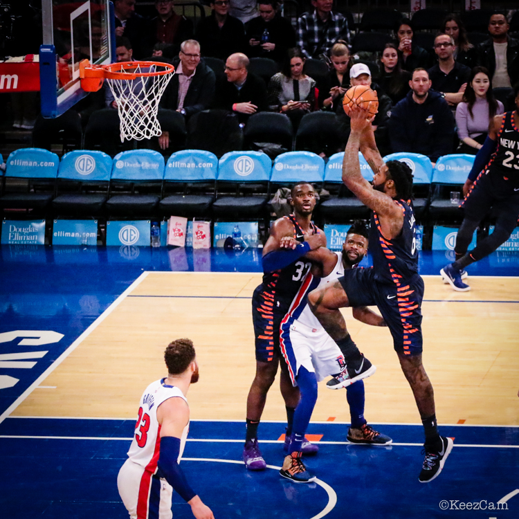 Detroit Pistons vs. New York Knicks