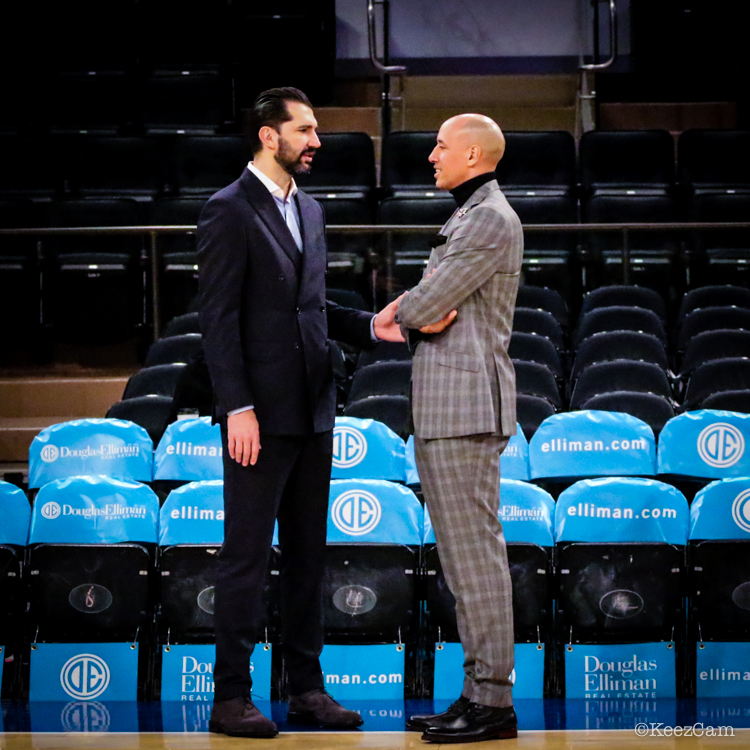 Peja Stojakovic & Doug Christie