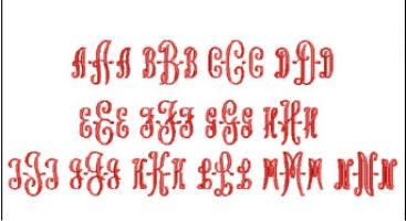 Style 15 Full Alphabet