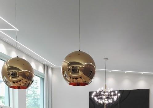 Asuntomessujen 2016 kohteessa Lakeuden Jämerä Kutsu toteutimme näyttävän LED-tekniikan ja kangaskattoratkaisun yhdistelmän.