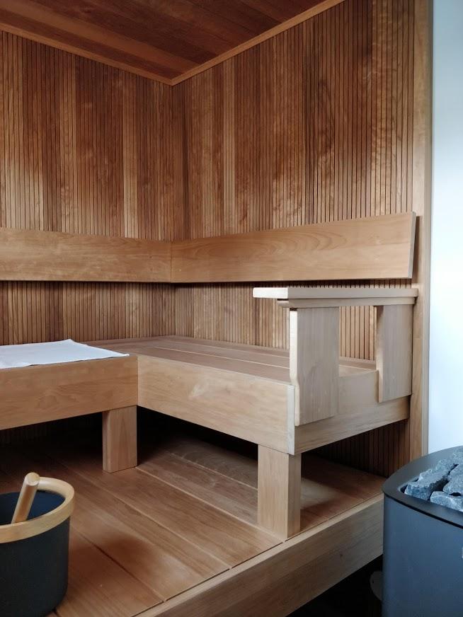Kaunis, eleetön sauna kohteessa nro.13