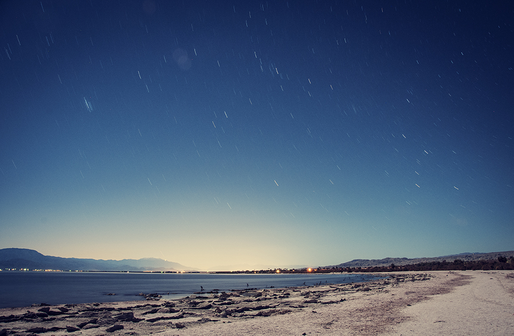 The Salton Sea, CA - NIGHTTIME LONG EXPOSURES