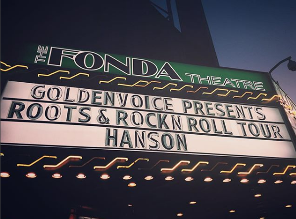 I friggin' love Hanson. - I've seen them in concert four times.