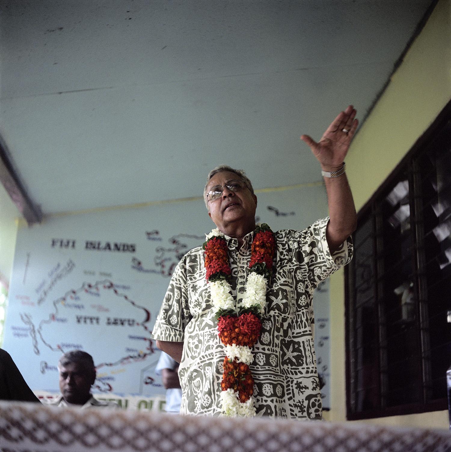 The former Prime Minister