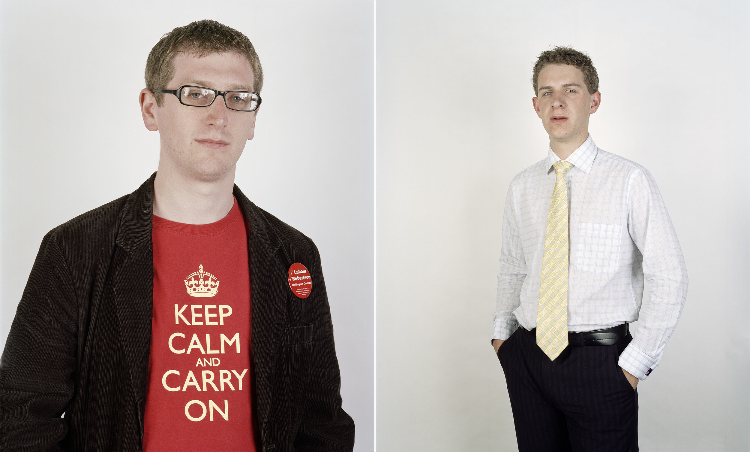 Patrick Leyland and Joshua O'Rourke