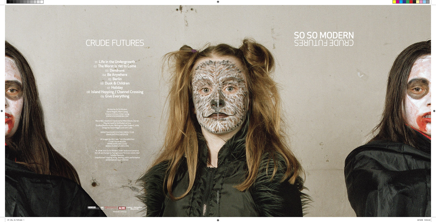 "Crude Futures photographs adapted for So So Modern's 12"" vinyl release"