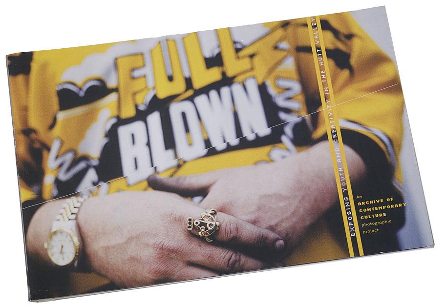 Full Blown exhibition book, 2000.
