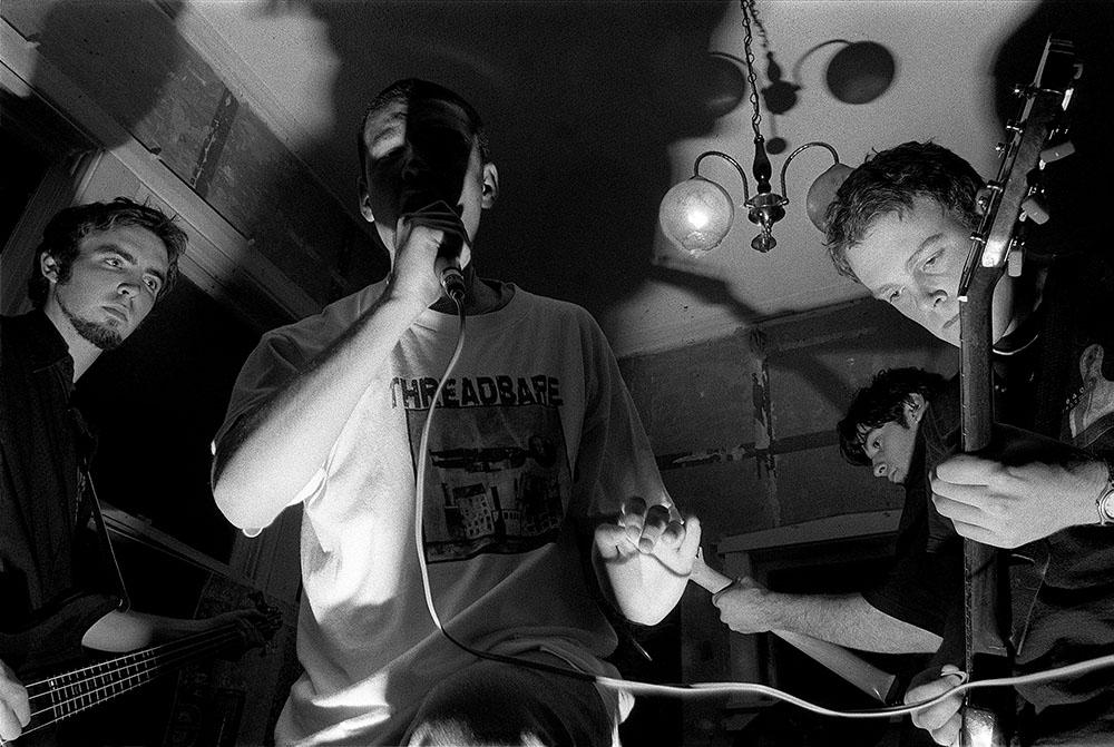 Lower Hutt hardcore band Discenter.