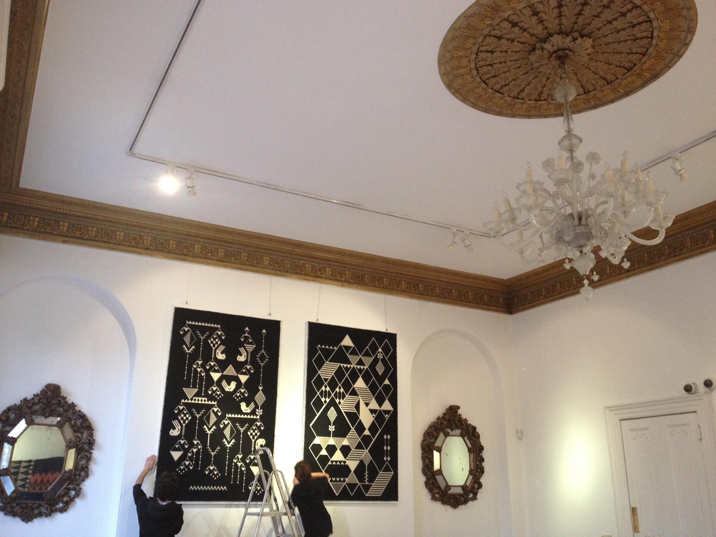 Exhibition at Italian Cultural Institute, London