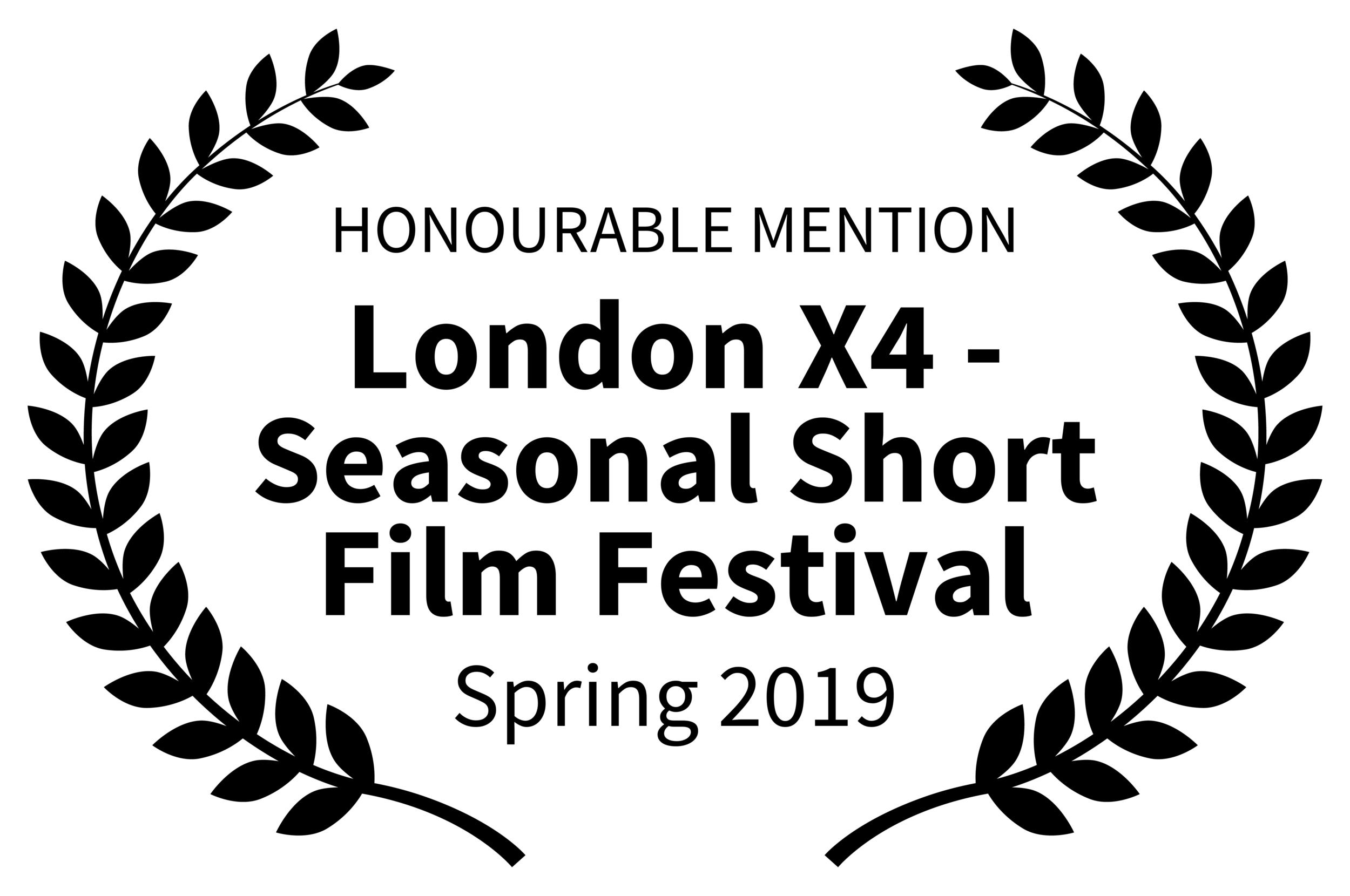HONOURABLEMENTION-LondonX4-SeasonalShortFilmFestival-Spring2019.png