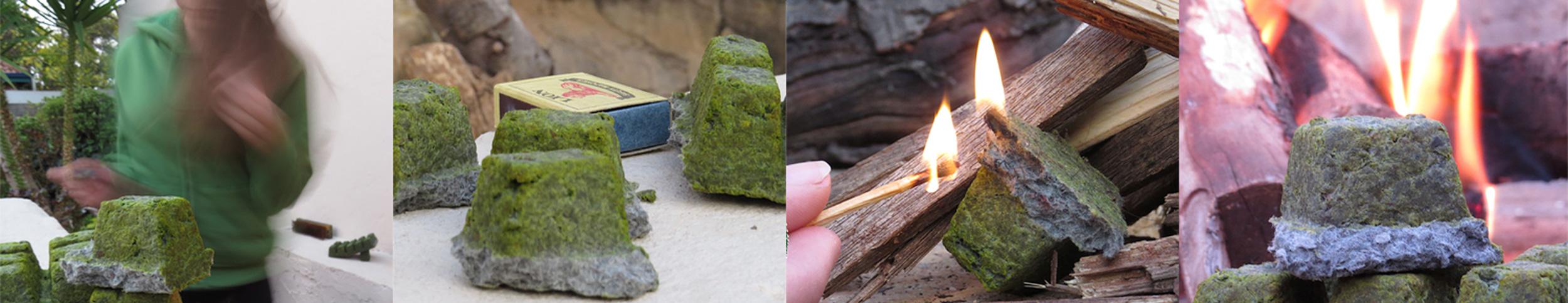 Green Lite's unique eco fire lighters