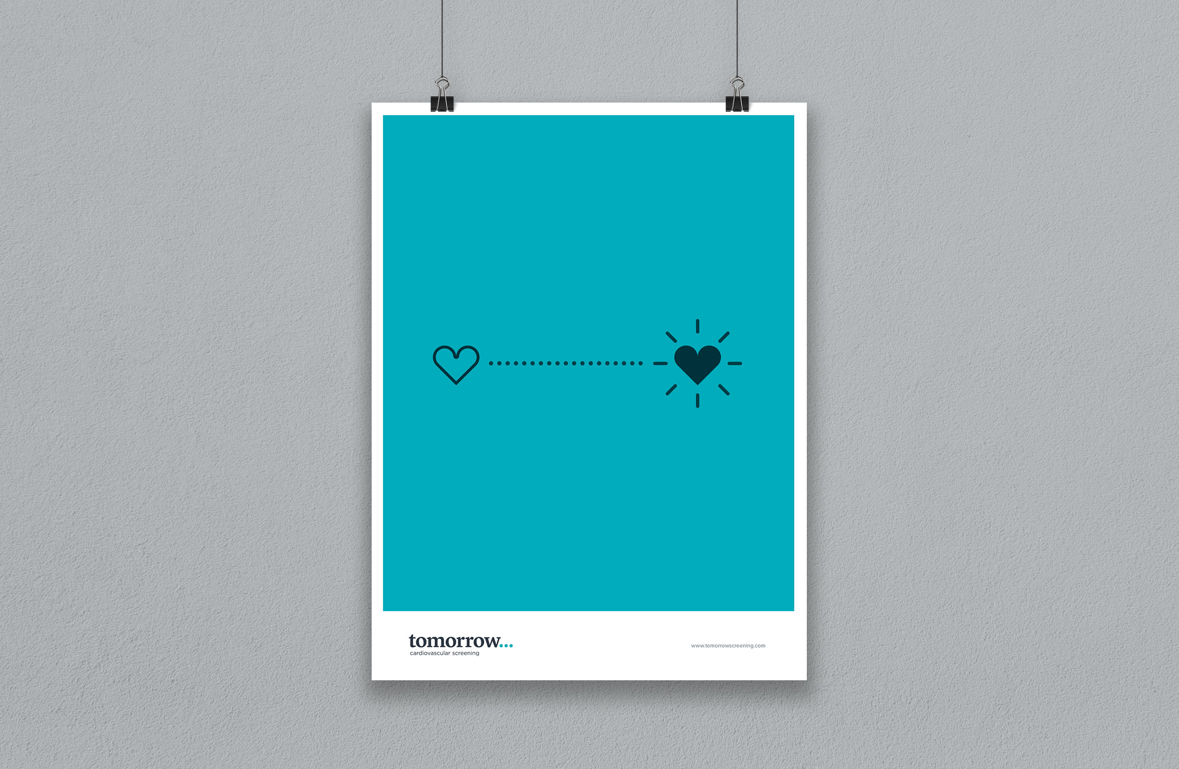 Tomorrow Screening heart transformation poster – design by Ian Whalley