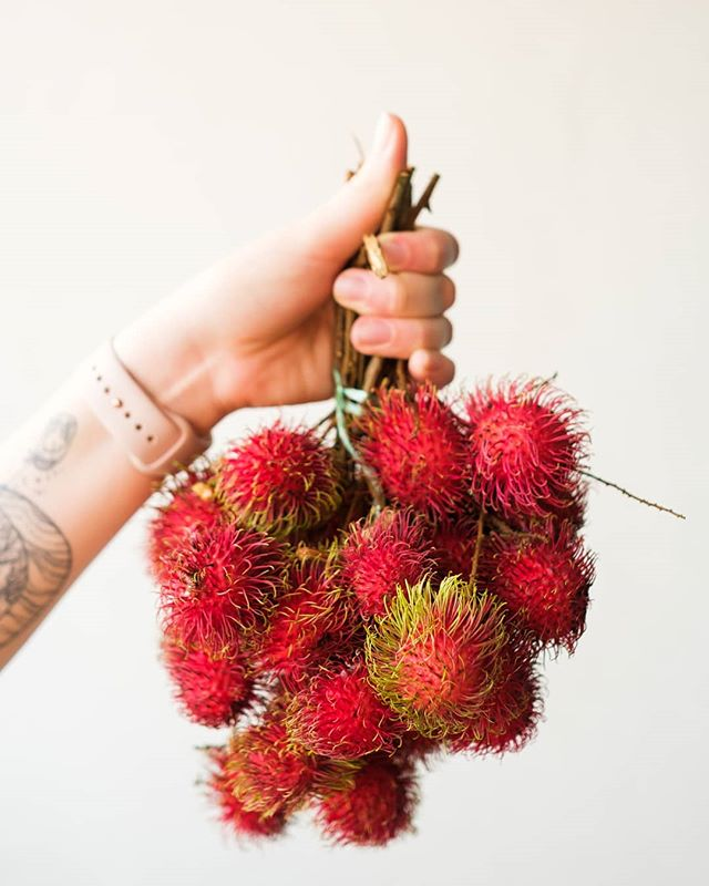 Proud owner of many rambutan.  #kl #kualalumpur