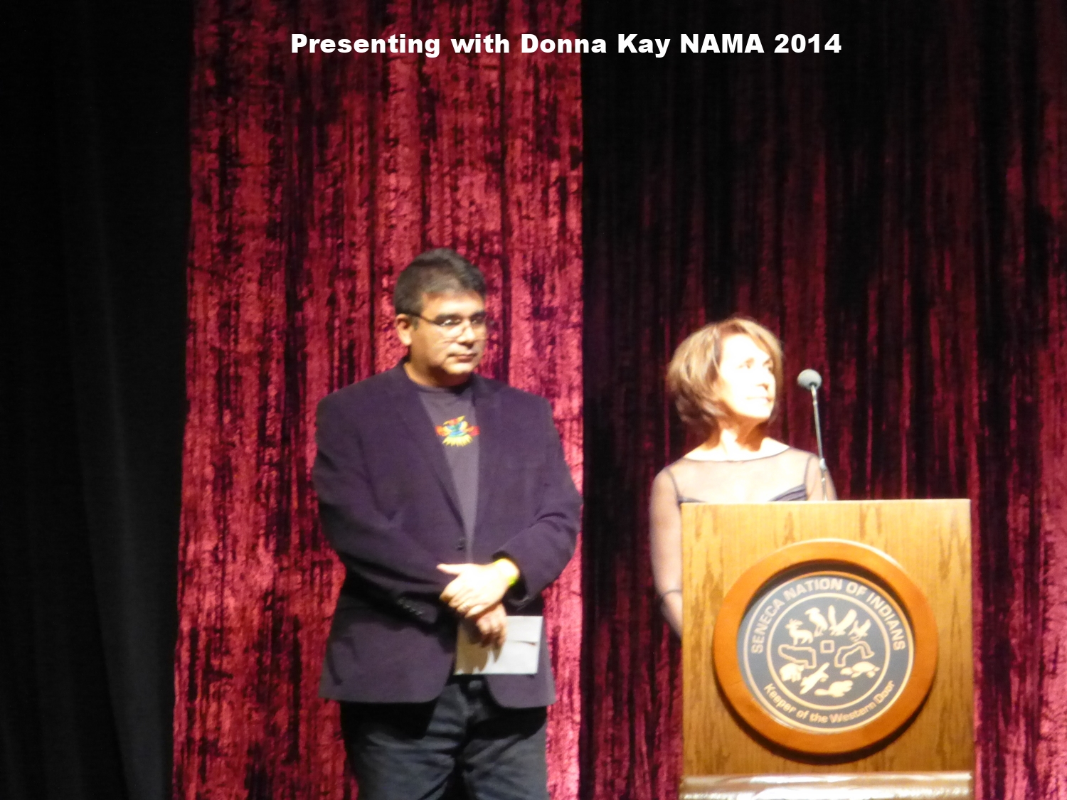 Presenting with Donna Kay