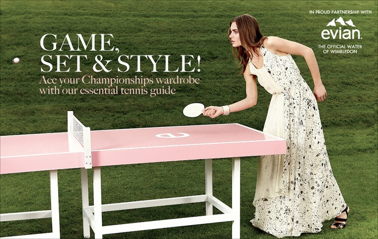 Not a room but I don't care.. That table is to die for!  You're welcome Evian for the free advertising.