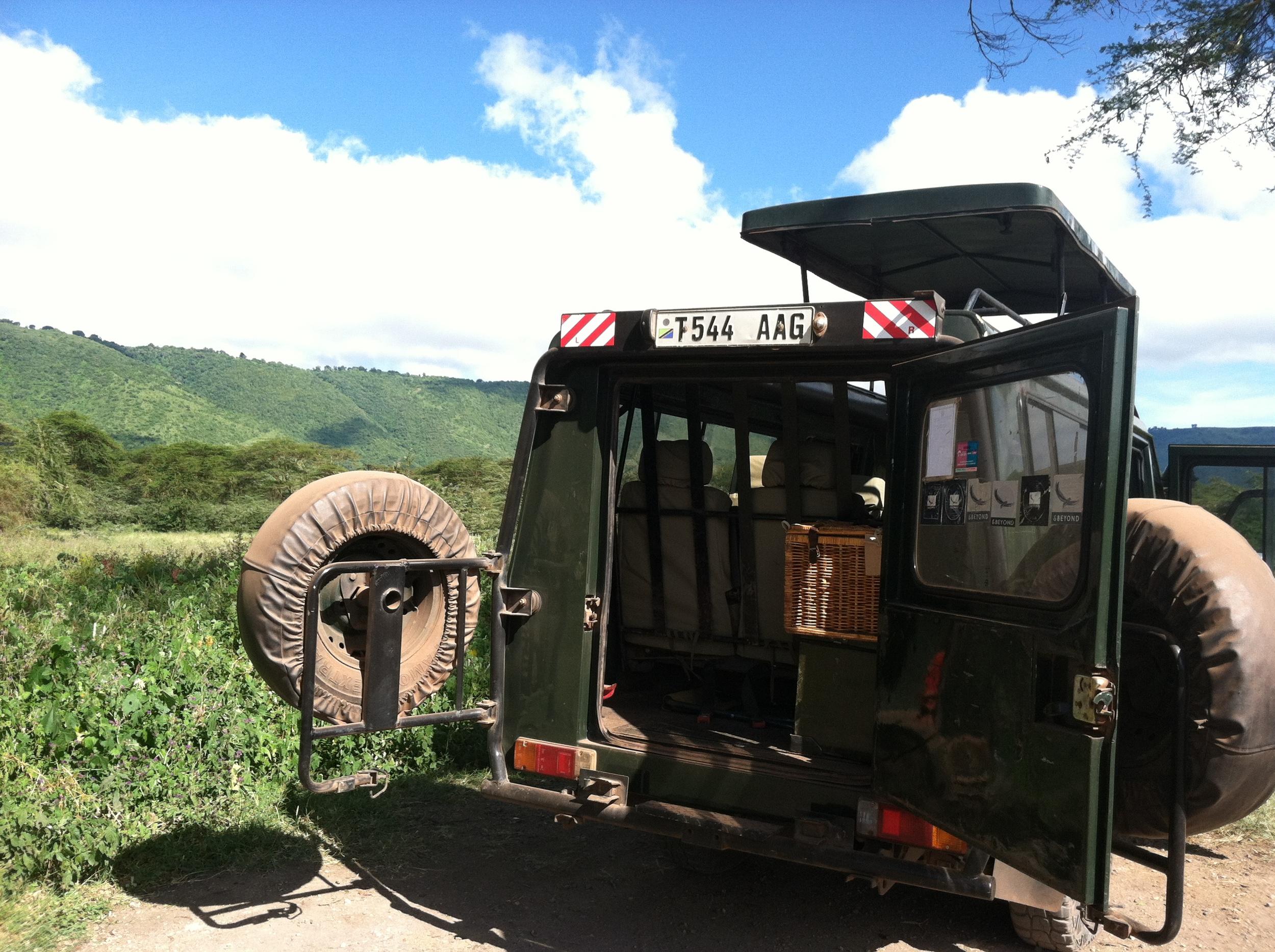 Ngorongoro Crater Lodge Picnic.JPG