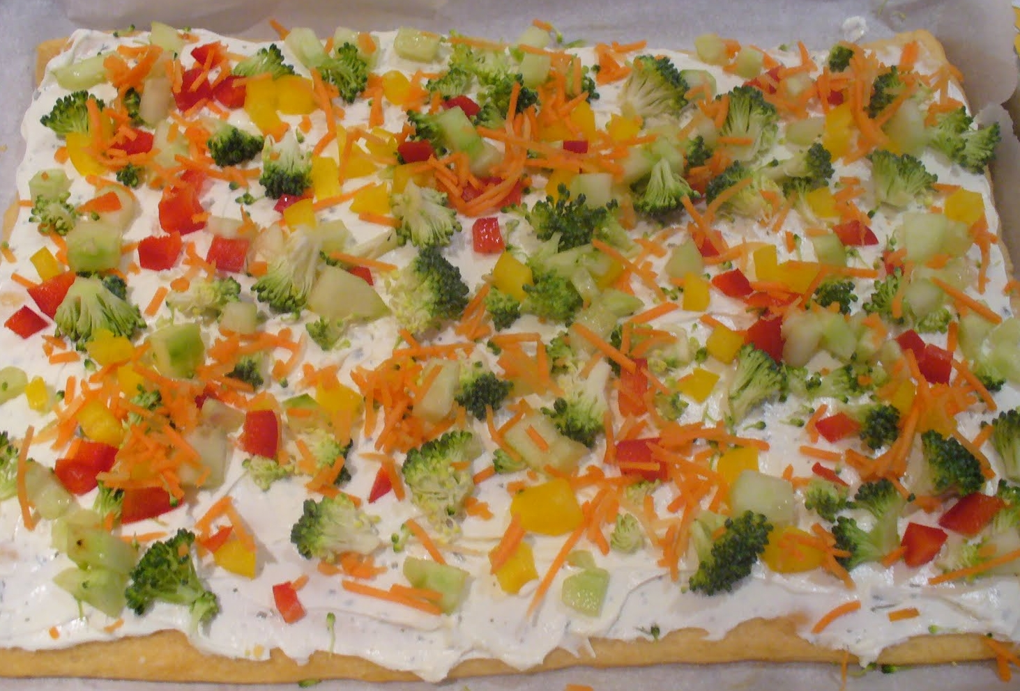 Crescent Roll Veggie Pizza.JPG