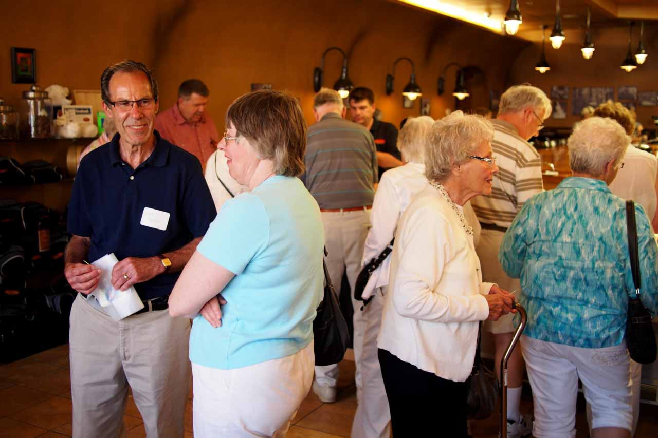 The Golden Shepherds plan trips and luncheons for those in their golden years.  Join us for our next event!