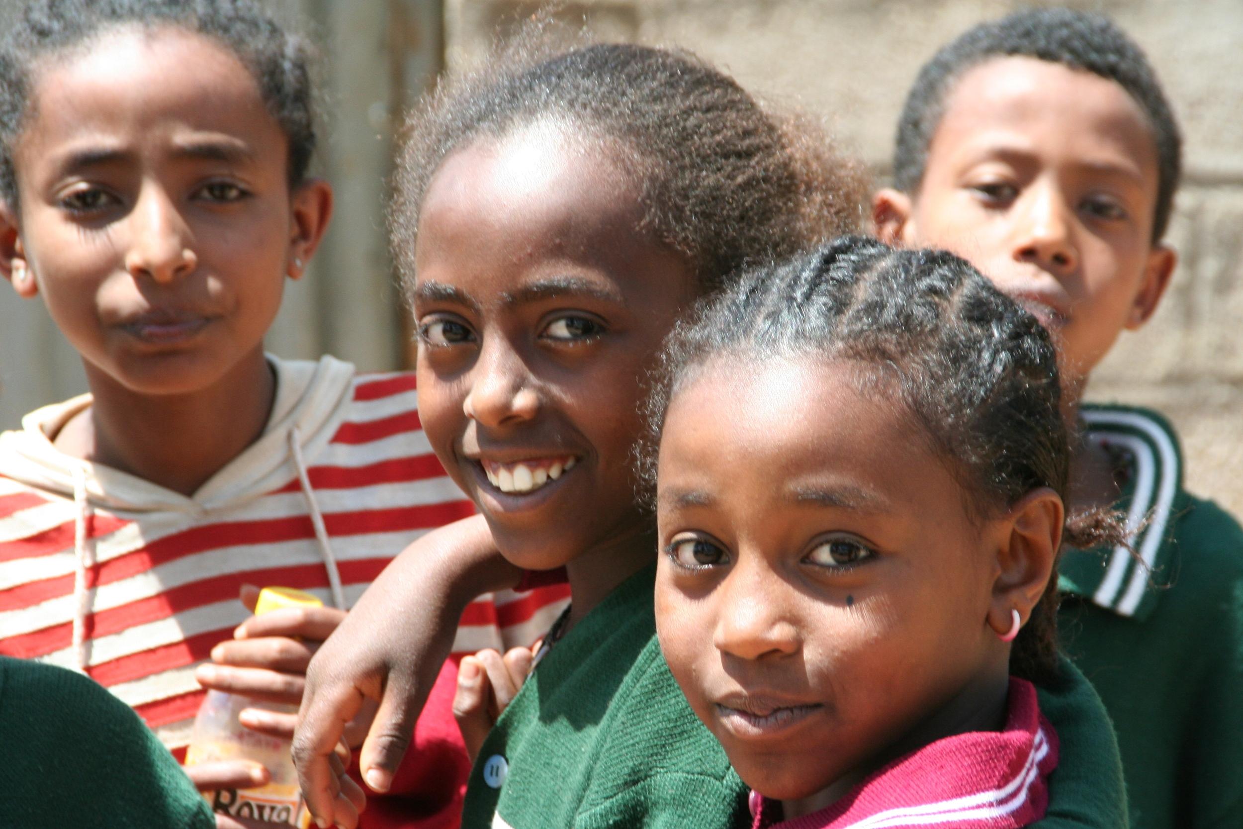 The children of ethiopia