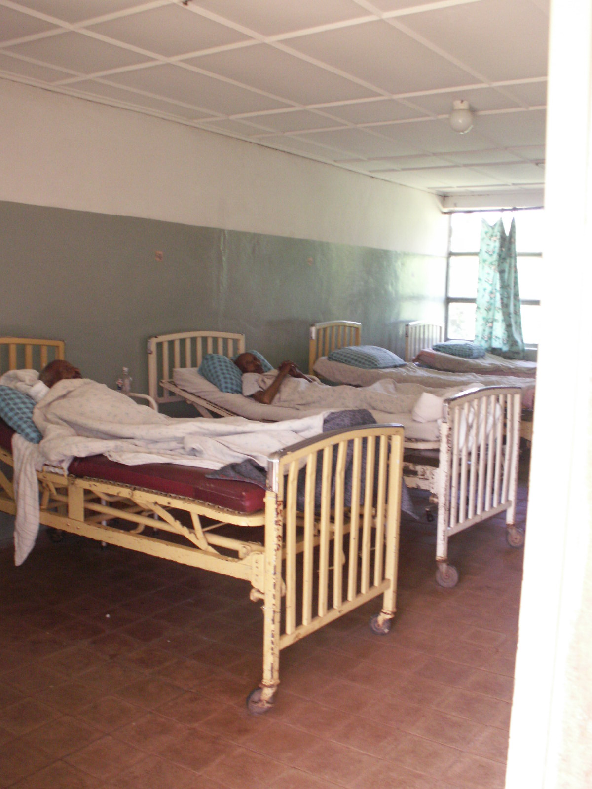 Patients at Aira Hospital