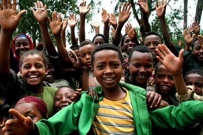 Children near Aira