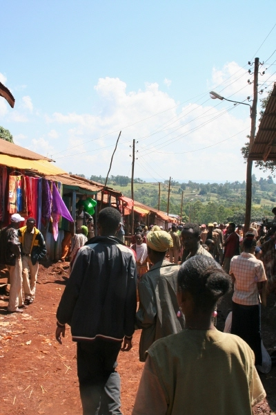 The market in Aira