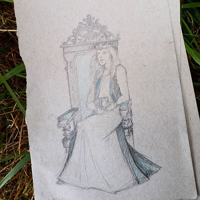 Sketches from the House of Lords meeting at Ragnorok.  #reallifelifedrawing #empireofmedievalpursuits #medievallife #pencilsketch #pencil #lifedrawing #ragnarok