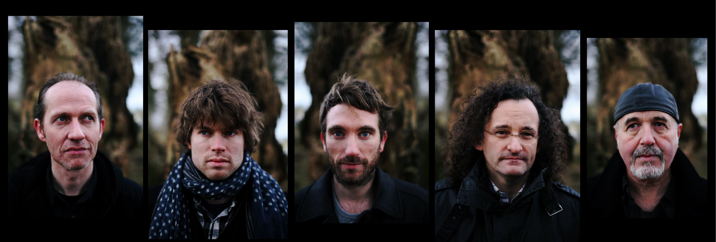 left to right: Iarla Ó Lionáird, Thomas Bartlett,Caoimhín Ó Raghallaigh, Martin Hayes, Dennis Cahill  Photo credit: Feargal Ward