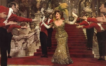 Barbra Streisand in the 1968 musical comedy  Hello, Dolly!