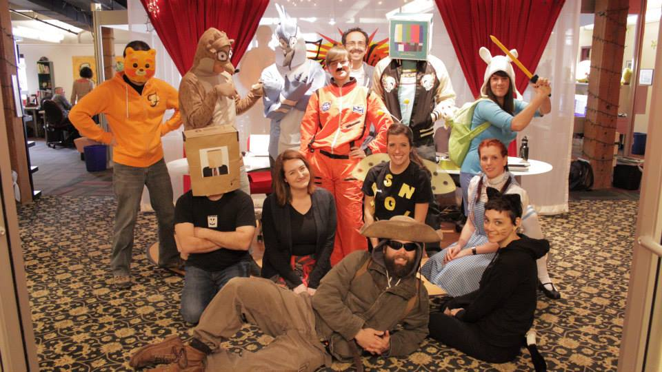 FableVision's 2013 Halloween brought Dorothy, a spelling bee, Commander Chris Hadfield,Rigby and Mordecai from Regular Show, and more!