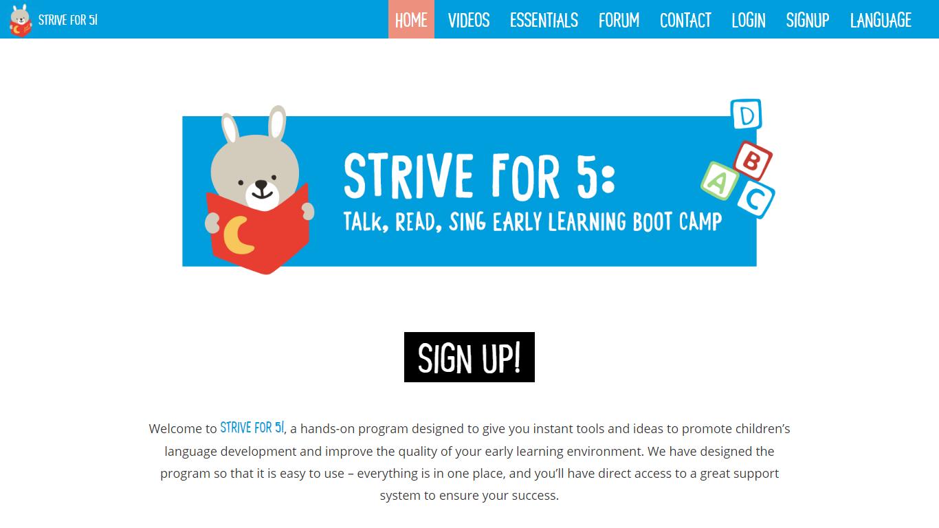 Strive for 5!