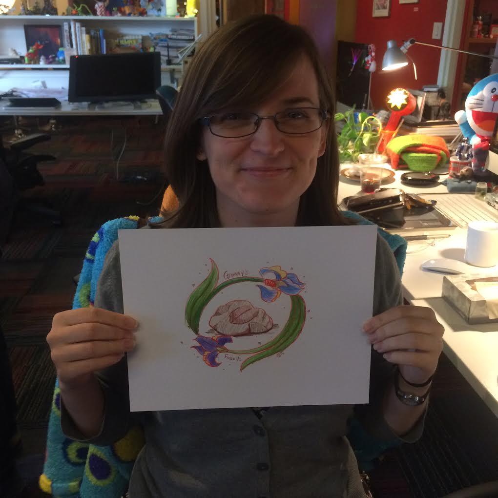 Hannah O'Neal: A Granny's Fossil Dot