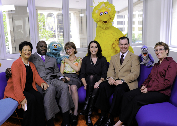 Mia Doces on the Anti-Bullying Panel at Sesame Workshop