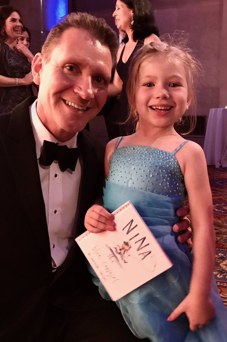 FableVision's Tone Thyne with Nina Hunter at the Make-A-Wish Gala in New York City.
