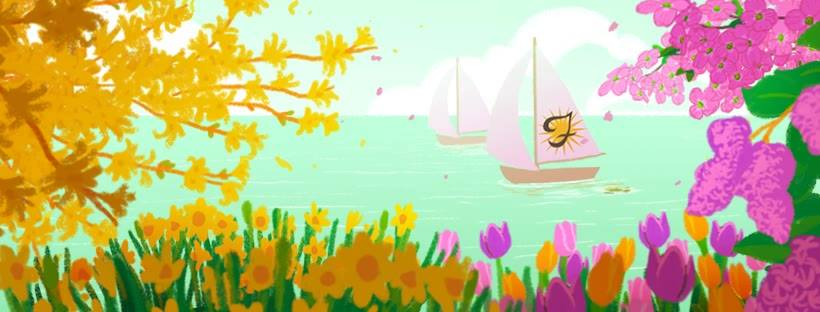 Spring  designed by Artist and Animator  Hannah O'Neal