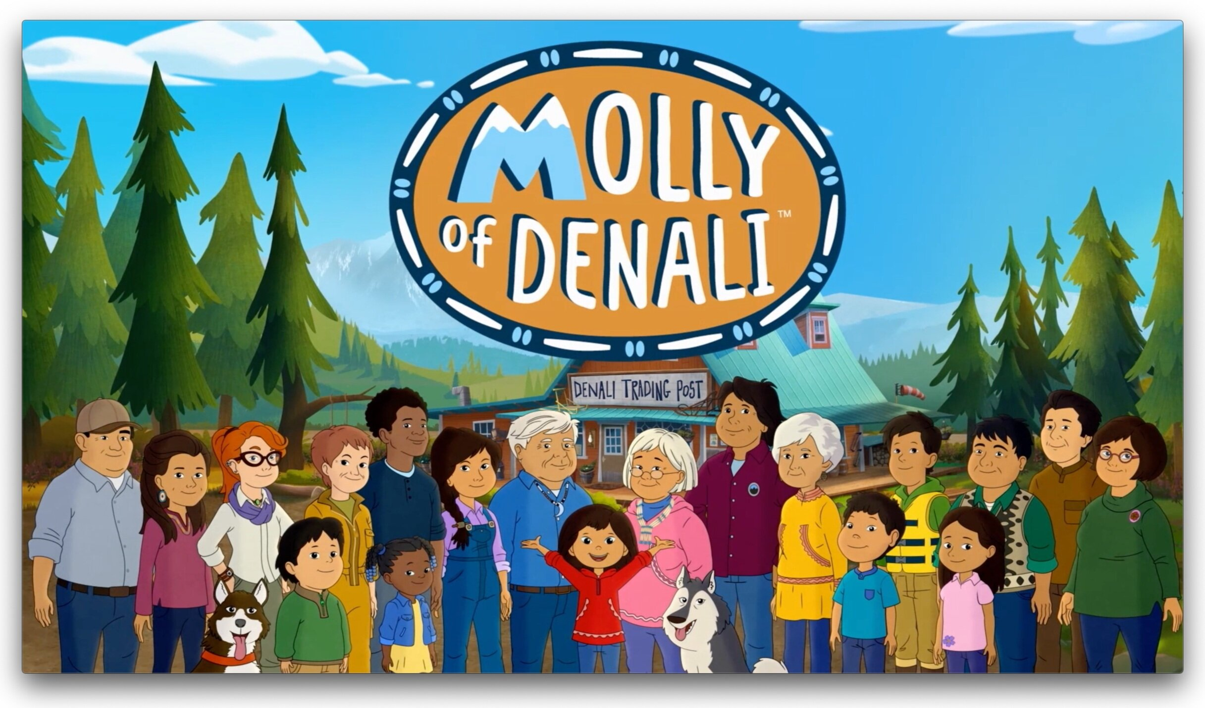 IMAGE CREDIT: Molly of Denali, Trademark/Copyright 2019 WGBH Educational Foundation. All rights reserved.