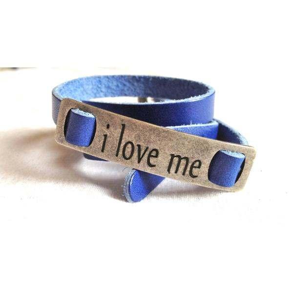 Chissene Leather Colored Bracelet
