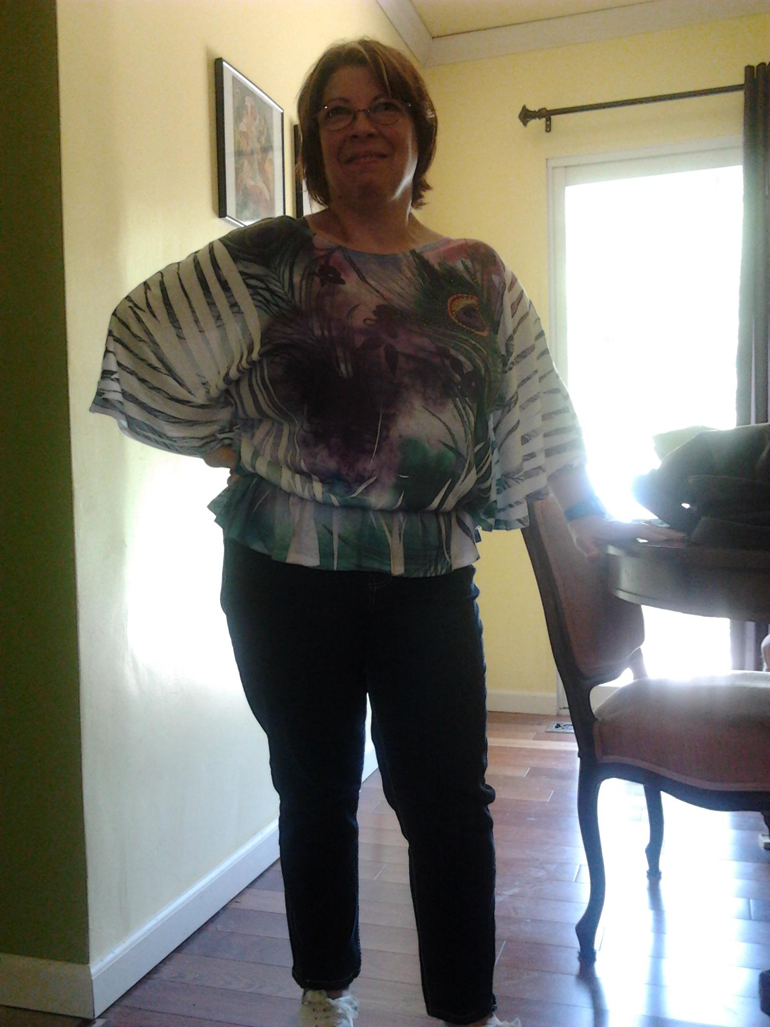 If this shirt was any bigger I'd take flight.