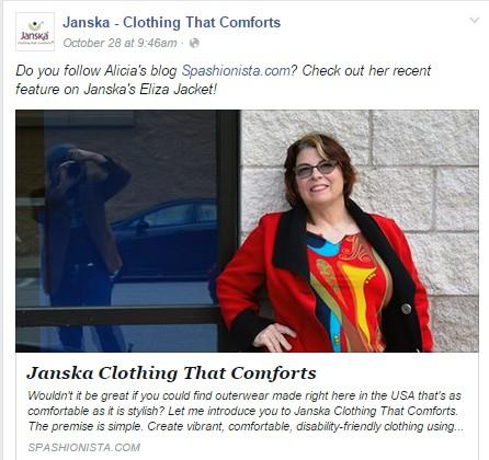 Janska Clothing That Comforts