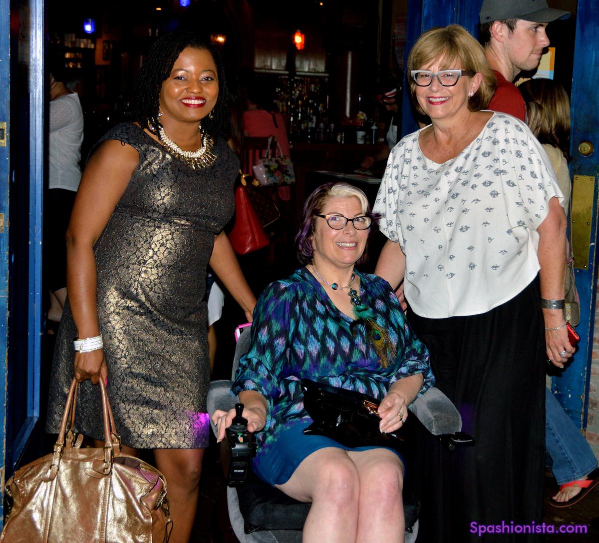 Chanda Plair, Me and Van Tucker of  Nashville Fashion Alliance