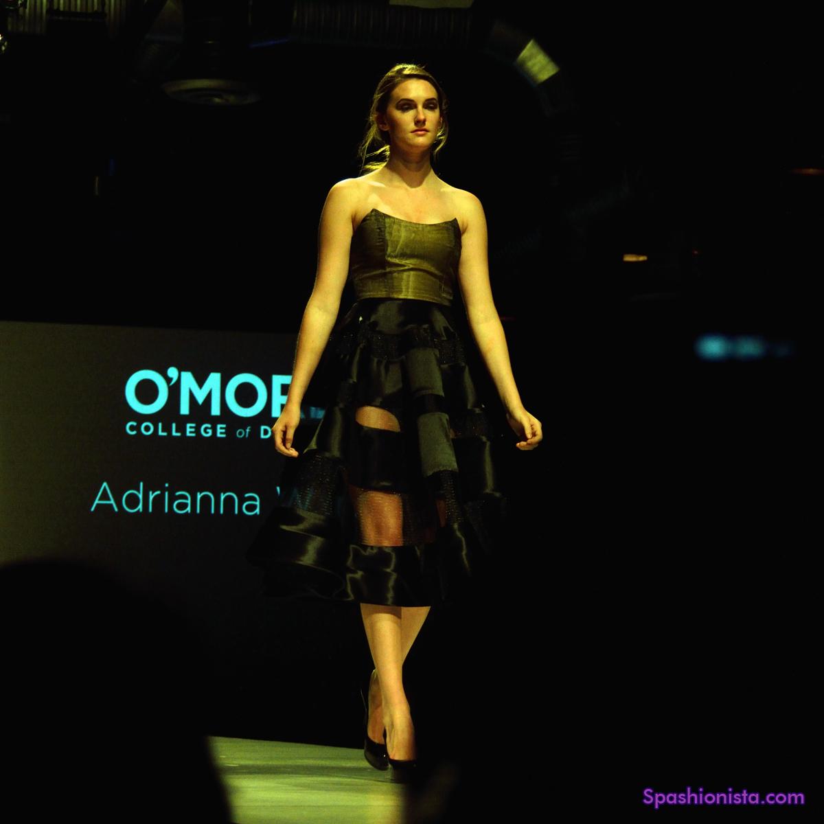 Spashionista O More College Of Design Student Fashion Show