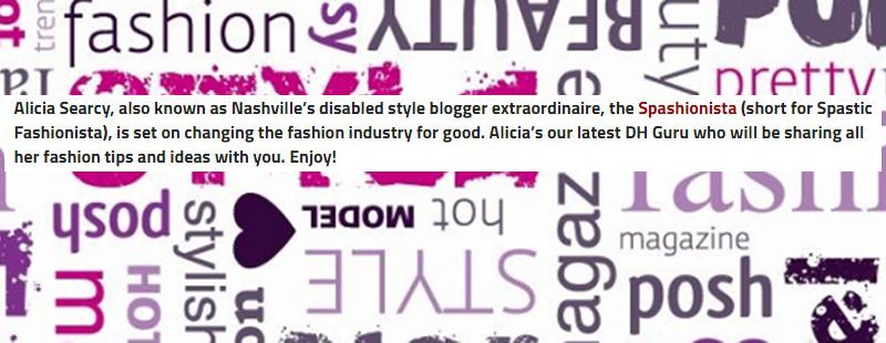 Disability Horizons Fashion Guru